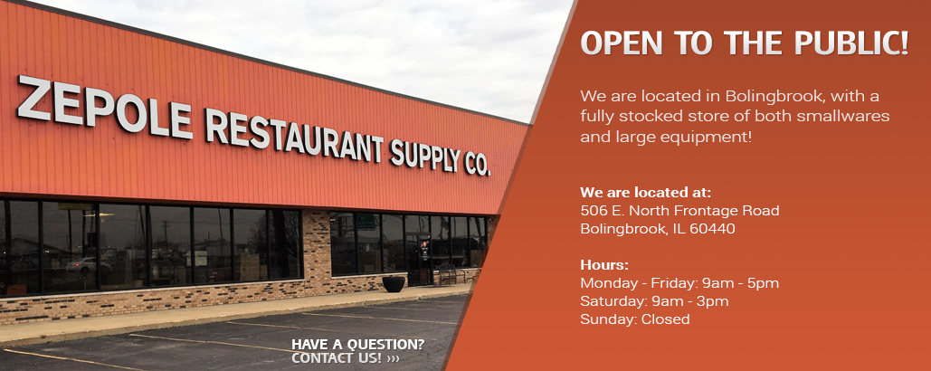 Chicagoland S Premier Restaurant Equipment And Supply Store